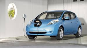 Nissan Leaf - laden 1