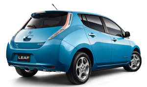 Nissan Leaf - laden 2