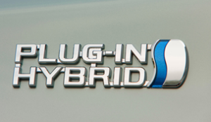 wat is een plug-in hybride auto - logo