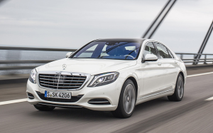 Mercedes-Benz S500e plug-in hybrid 1