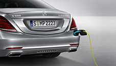 Mercedes-Benz S500e plug-in hybrid